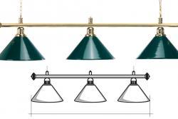 Светильники (лампы) бильярдные